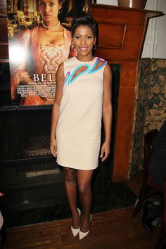 """The Belle of the Ball - Tamron Hall  at a lunch for the new film """"Belle"""""""