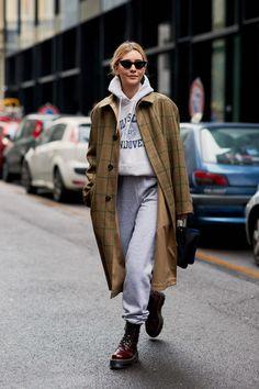 The Best Street Style Looks From Milan Fashion Week Fall 2018 - Fashionista #beautyfashion #streetclothing