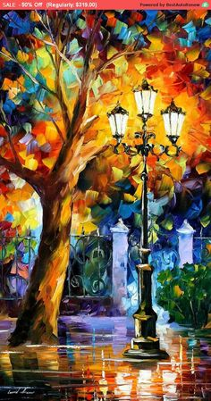 Romantic Aura - Palette Knife Oil Painting On Canvas By Leonid Afremov Painting It's the colors. I love this painting. Oil Painting On Canvas, Canvas Art, Oil Paintings, Knife Painting, Leonid Afremov Paintings, Painting Canvas, Original Paintings, Painting Tips, House Painting