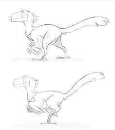 https://finchwing.deviantart.com/art/Dinosaur-character-animation-tests-661567744
