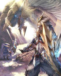 Monster Hunter  #capcom #monsterhunter #anime #monsters #collectors #kaiju #manga #nerd #geek #otaku #hobby #art #digitalart #illustration #arte #drawing #artoftheday #ink #instaart #painting #nintendo by devilzsmile.com #devilzsmile