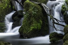 Silky waterfall by Eirik S on Waterfall, Photography, Photograph, Waterfalls, Photo Shoot, Rain, Fotografie, Fotografia