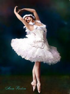Anna Pavlova - Russian BALLET Dancer