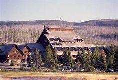 Old Faithful Inn  Yellowstone National Park, Wyoming
