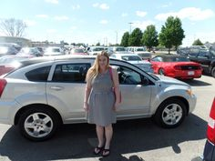 Congratulations to Elise on her purchase of a new Dodge Caliber! We really appreciate the opportunity to earn your business and hope you enjoy your new car!