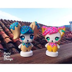Súper contenta del resultado final de los primeros Art Toys #patricutethings ! Hechos de forma artesanal y con mucho amor  Unidades únicas y exclusivas a la venta en la reapertura de la tienda (día aún por concretar). Por fin puedo trabajar en algo que tenía ganas hace mucho tiempo  #arttoy by patricye
