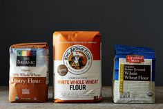 While white flour will last you 6-9 months, you should toss the whole-grain stuff after 3 months.