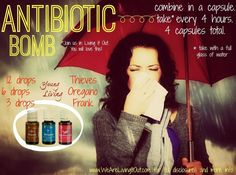 Antibiotic Bomb.  People have said this works better and faster than prescription antibiotics.