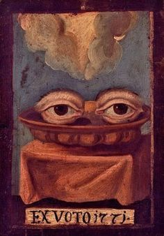 Gabinete de curiosidades: Exvotos Memento Mori, Surreal Artwork, Tarot, Catholic Art, Mexican Folk Art, Eye Art, Sacred Art, Outsider Art, Simple Art