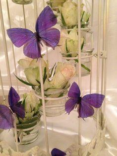 10 Beautiful 3D Exotic Cadbury Purple  Wedding by MyButterflyLove, $21.00