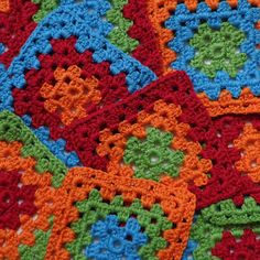 Learning to Crochet - first ever Granny squares! Learn To Crochet, Granny Squares, Blanket, Learning, How To Make, Fun, Tejidos, Studying, Teaching