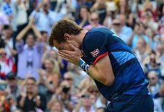 Andy Murray wins Olympic gold at Wimbledon - http://www.PaulFDavis.com/success-speaker (info@PaulFDavis.com)