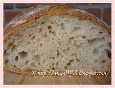Белый хлеб на закваске - White leaven bread Going Vegan, Bread Recipes, Rolls, Homemade, Baking, Food, Russian Recipes, Table, Bakken