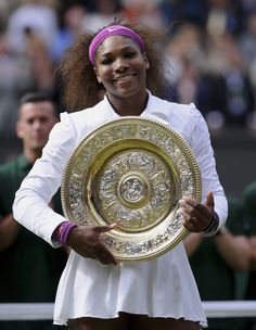 Serena Williams, last years Wimbledon Champion.