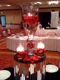 Champagne Glass Centerpiece Champagne Glasses Glass Centerpieces And Champagne