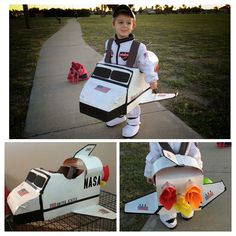 Astronaut And Rocket Ship Halloween Costume Stuff I Made