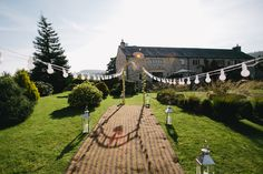 English Countryside Festival Themed Wedding by Spencer Photography