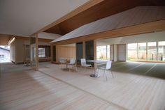 Hiroshi Sambuichi creates sculptural roofs over Naoshima community centre