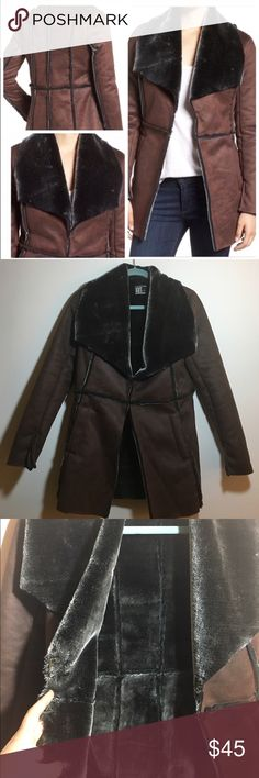 Kut From the Kloth Faux sherling coat EUC! Only tried on. This coat is so warm and soft. There are two latches for closure in the front. Stylish and practical. Would fit size small and xsmall. Bundle and save! Kut from the Kloth Jackets & Coats