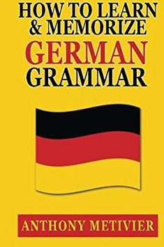 How to Learn and Memorize German Grammar . Using a Memory Palace Network Specfically Designed for German (Magnetic Memory Series) German Language Learning, Language Study, Language Lessons, Learn A New Language, Foreign Language, German Grammar, German Words, Some Words, New Words