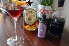 The Starguide is the perfect drink to have after a big meal, and pairs particularly well with the smoky flavors of summer barbeque. It also features some of my personal favorite ingredients: rye whiskey, Pernod, orange juice, and of course my grandfather's port. Enjoy this cocktail with friends and family at your next summer get-together, and look up to the night's sky as your guide.