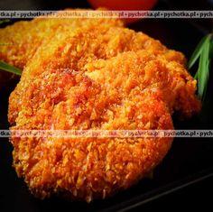 Kanie w panierce Stuffed Mushrooms, Cooking Recipes, Polish, Chicken, Meat, Kitchen, Food, Stuff Mushrooms, Vitreous Enamel