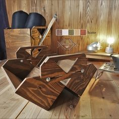 Outdoor Playground, Image List, Knife Block, Camping, Creema, Wood, 2way, Furniture, Grilling