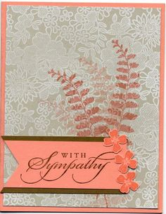 butterfly basics sympathy card by eyestitch - Cards and Paper Crafts at Splitcoaststampers