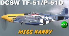 a P-51D skin made for DCS P-51D by Tom Weiss , hosted at www.lockonfiles.com