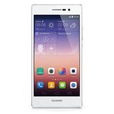 """Te presentamos el Huawei Ascend P7, un smartphone con pantalla de 5"""", procesador Quad Core y 2GB de RAM. Huawei Ascend P7 Blanco Libre"""