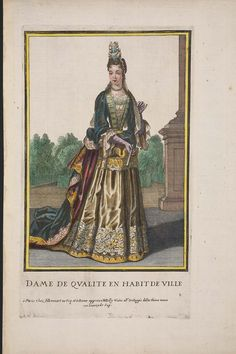 Dame de Qualite en Habit de Ville | Museum of Fine Arts, Boston