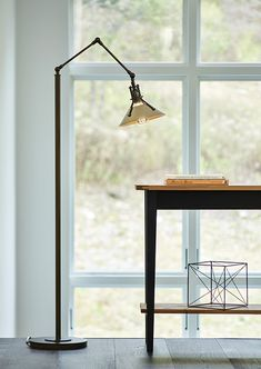 Shop Hubbardton Forge Lighting - Industrial design is all the rage these days. Check out our Henry Floor Lamp > Furniture Catalog, Furniture Showroom, Apartment Furniture, Fine Furniture, Unique Furniture, Furniture Plans, Kitchen Furniture, Wood Furniture, Furniture Design