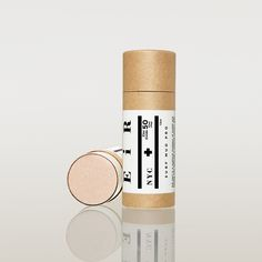 A pro version of our popular Surf Mud, this formula provides a higher level  of sun protection packaged in a compostable paper stick for quick  application and longer lasting sessions. Waterproof, zinc, sunstick (Approx  SPF 50).  1.5 oz stick  Organic Ingredients: coconut oil, cocoa butter, cocoa powder, beeswax and  zinc oxide