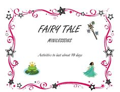 This is a mini lesson I did with my grade 2's. At the beginning I get them to think about the symbols found in different fairy tales (activate prio...