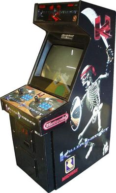 One of the most bad ass arcade games, people would line up to see the combos