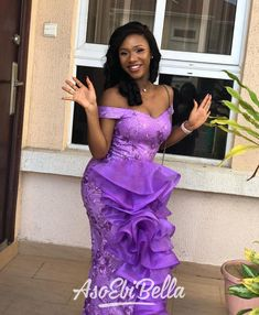 To make your wedding day a memorable one, you must consider your fashion as a great deal, by taking time to look at these Bridal Aso Ebi Styles. Nigerian Lace Styles, Aso Ebi Lace Styles, African Lace Styles, Lace Dress Styles, African Lace Dresses, African Wedding Dress, Latest African Fashion Dresses, African Dresses For Women, African Attire
