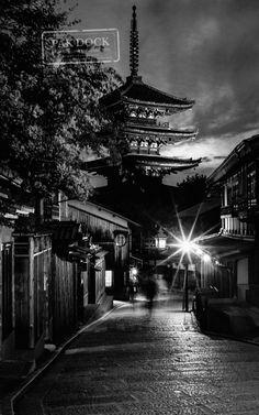 Yasaka-no-to pagoda Higashiyama. Kyoto