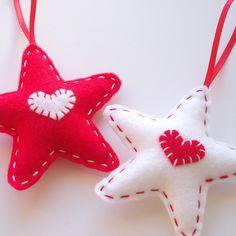 Felt stars for maddie's stars