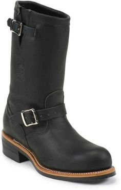 Xelement Women's Advanced Dual Strap Leather Boots With Vibram Soles 16