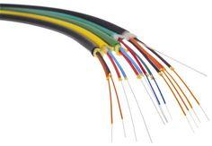 Cable de fibras ópticas / multiconductores / aislado / para uso interior FTTH, 2.3 mm HUBER+SUHNER