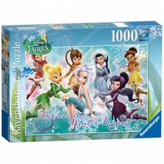 Ravensburger Disney Fairies Winter Wonderland Jigsaw Puzzle (1000 Piece)
