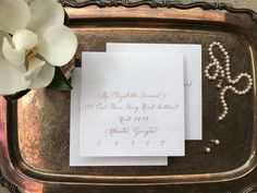 A personal favorite from my Etsy shop https://www.etsy.com/listing/530644580/wedding-calligraphy-hand-written