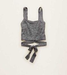 Aerie Luxe Wrap Bralette Top.  Our most-loved, luxe fabric! Treat yourself to a touch of supersoft cashmere. #Aerie