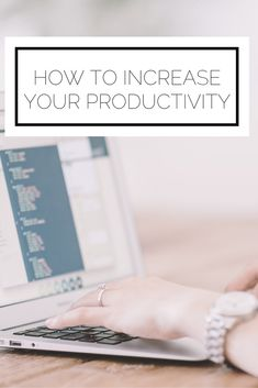 Click to read now, or pin to save for later! Use these 4 easy tactics to increase your productivity today