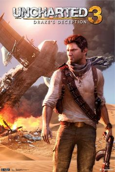 Uncharted 3 : Drake's Deception. Man, what a game! Love the gameplay, the gunfights, the puzzles and Nate, of course.
