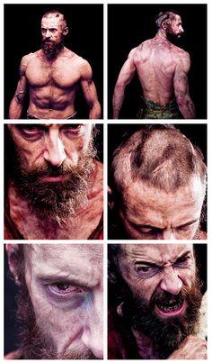 Hugh Jackman for Les Miserables, what a transformation!