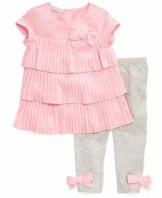 First Impressions Baby Girls' 2-Piece Tunic & Leggings - Kids Newborn Shop - Macy's