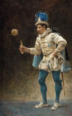Jules-Arsène GARNIER (1897-1889)   Joueur de bilboquet