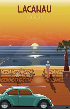 Claude, Vintage Travel Posters, Best Memories, Surfing, Deco, Instagram, World, Movie Posters, Art