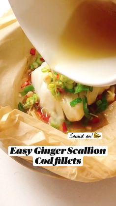 Salmon Recipes, Fish Recipes, Seafood Recipes, Asian Recipes, New Recipes, Cooking Recipes, Favorite Recipes, Comida Keto, Seafood Dinner